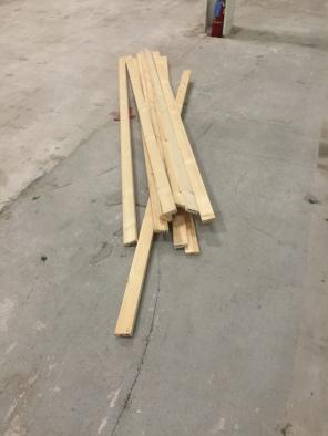 We used 11 wood planks