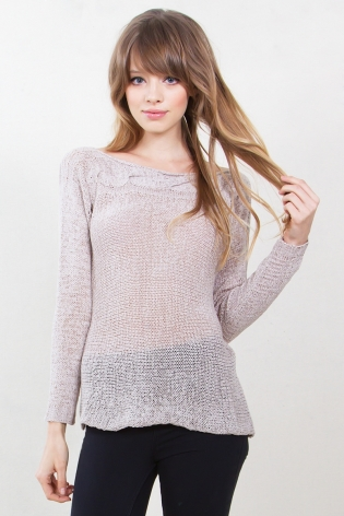 You Knead Me Sweater $17.99