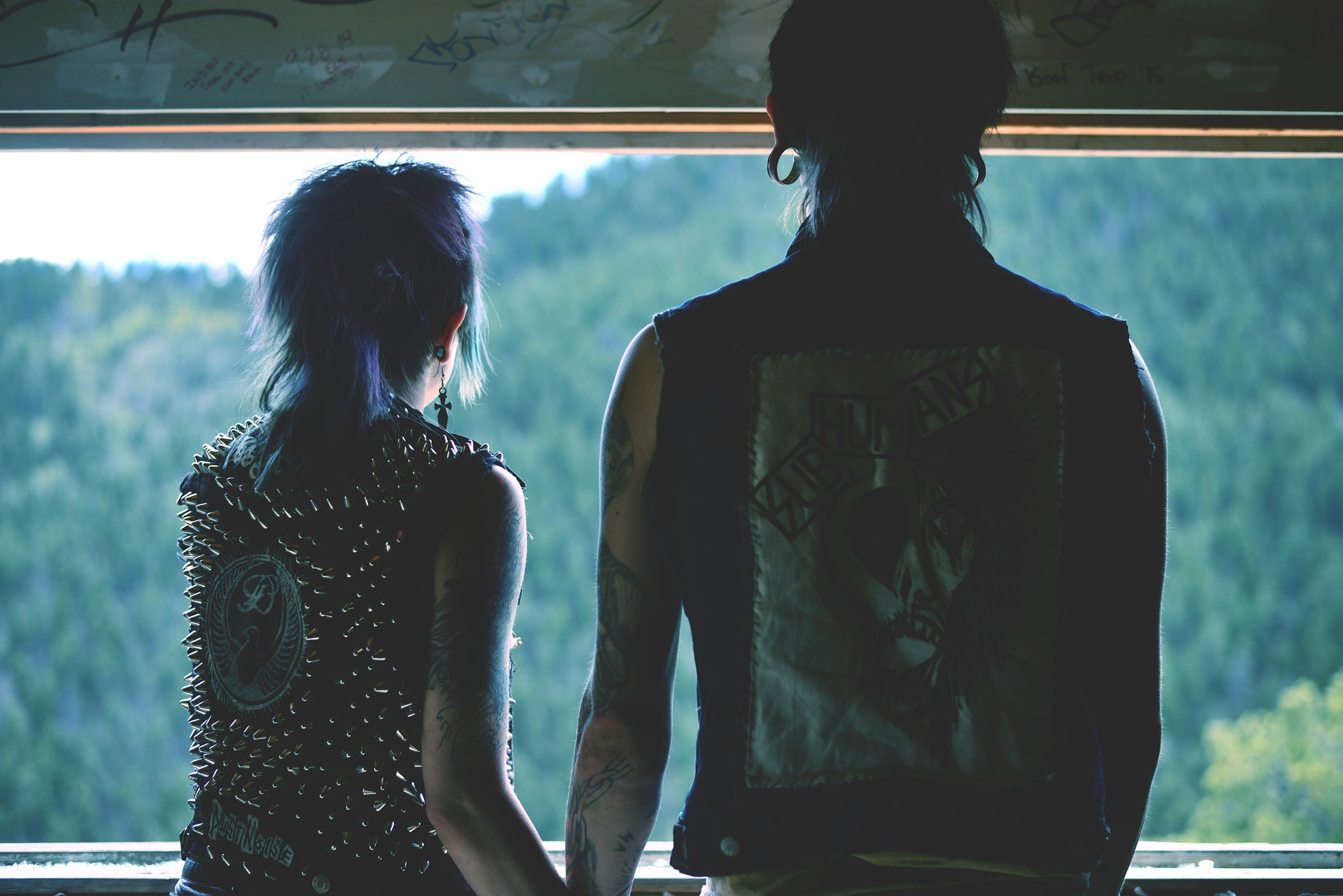 picture of rocker couple