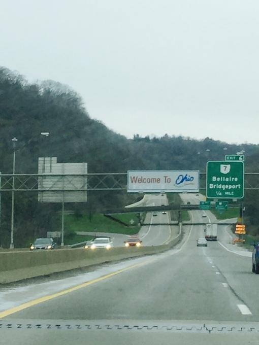 Ohio Welcome Highway Sign