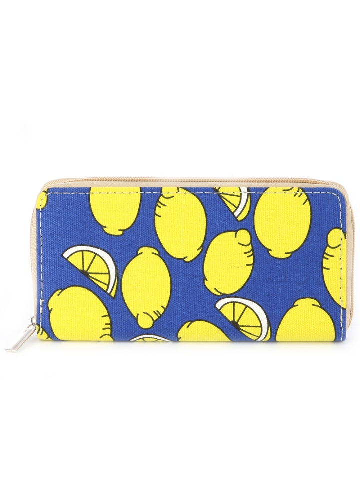 Lemonade Wallet Blue Labels Boutique
