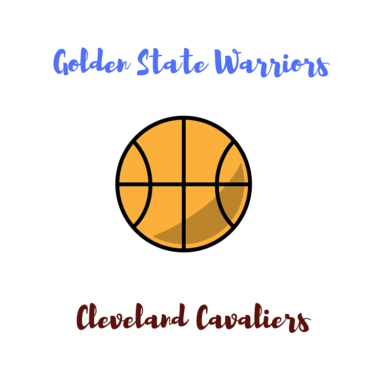 2016 NBA Finals Golden State Warriors vs Cleveland Cavaliers