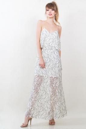 Lace On A Cloud Dress