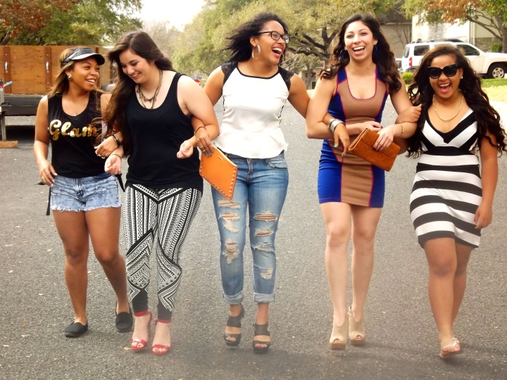 pic of group of ladies laughing