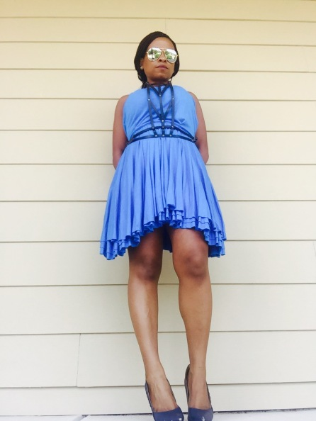 Panther Sunglasses   Harness   Marc Jacobs Dress