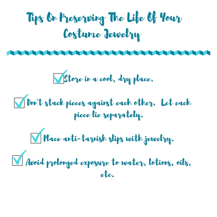 tips on how to taking care of costume jewelry