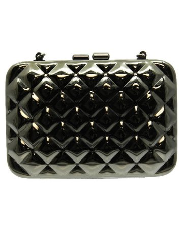 metal clutch bag