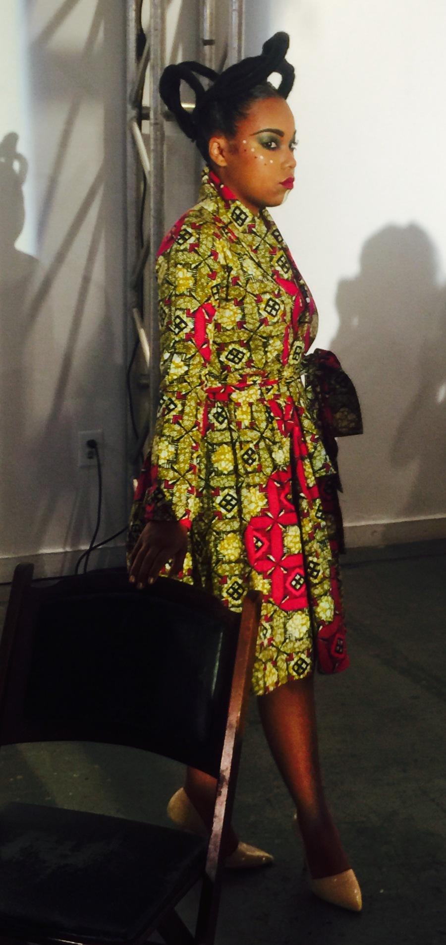 model at Irun Kiko: The Art Of Hair