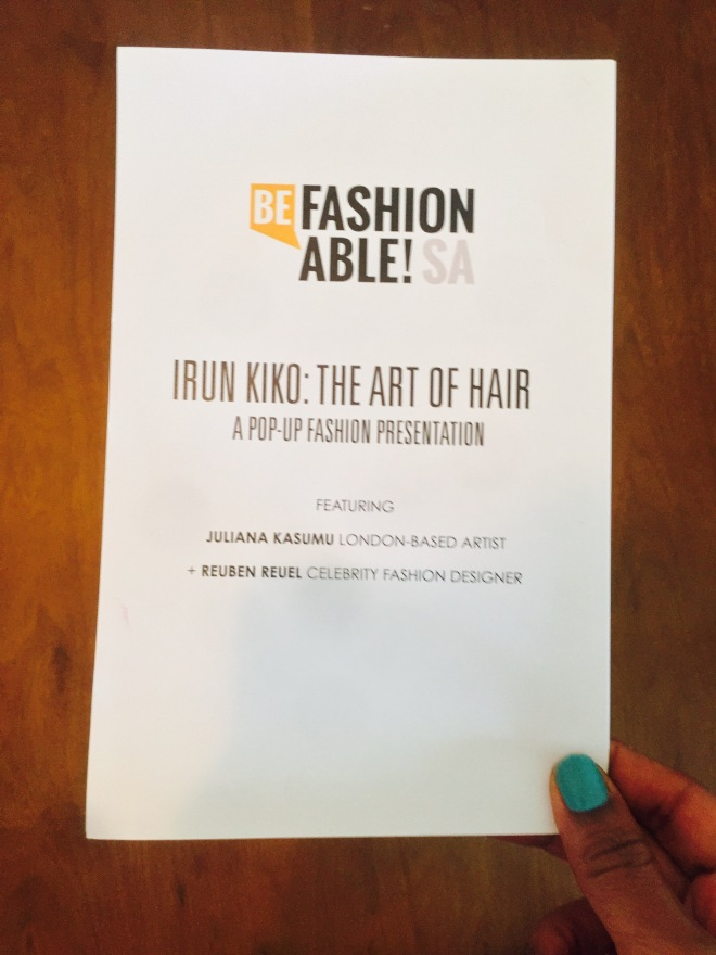 Irun Kiko: The Art Of Hair