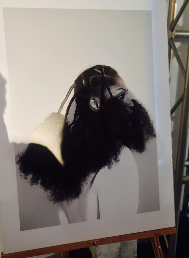 model wearing at Irun Kiko: The Art Of Hair