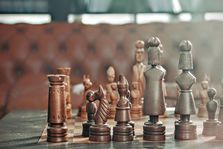 photo of chess games