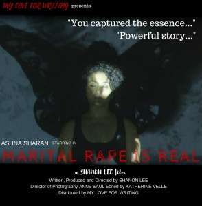 Shanon Lee movie, Marital Rape Is Real