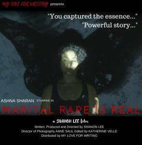 Shanon Lee movie, Marital Rape Is Real
