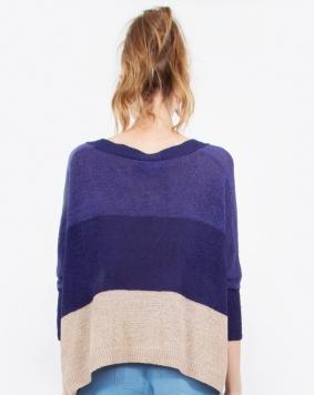 blueandtancolorblocksweaterback