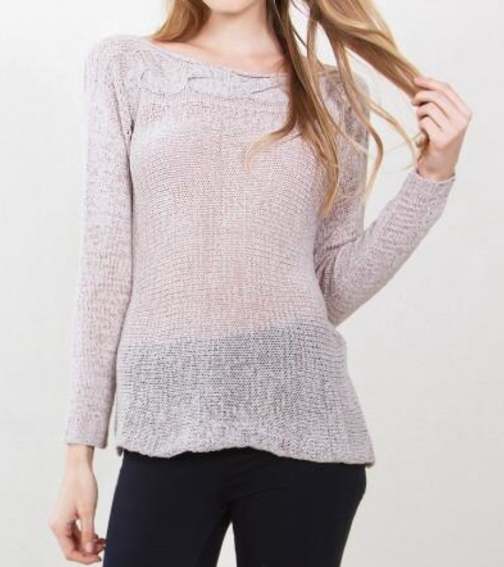 beige womens sweater blue labels boutique