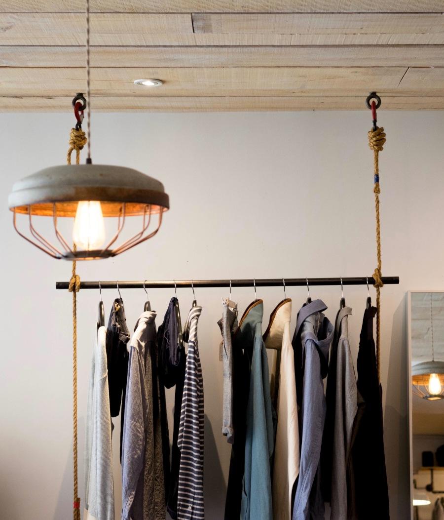 Clark Street Mercantile Hanging Clothes
