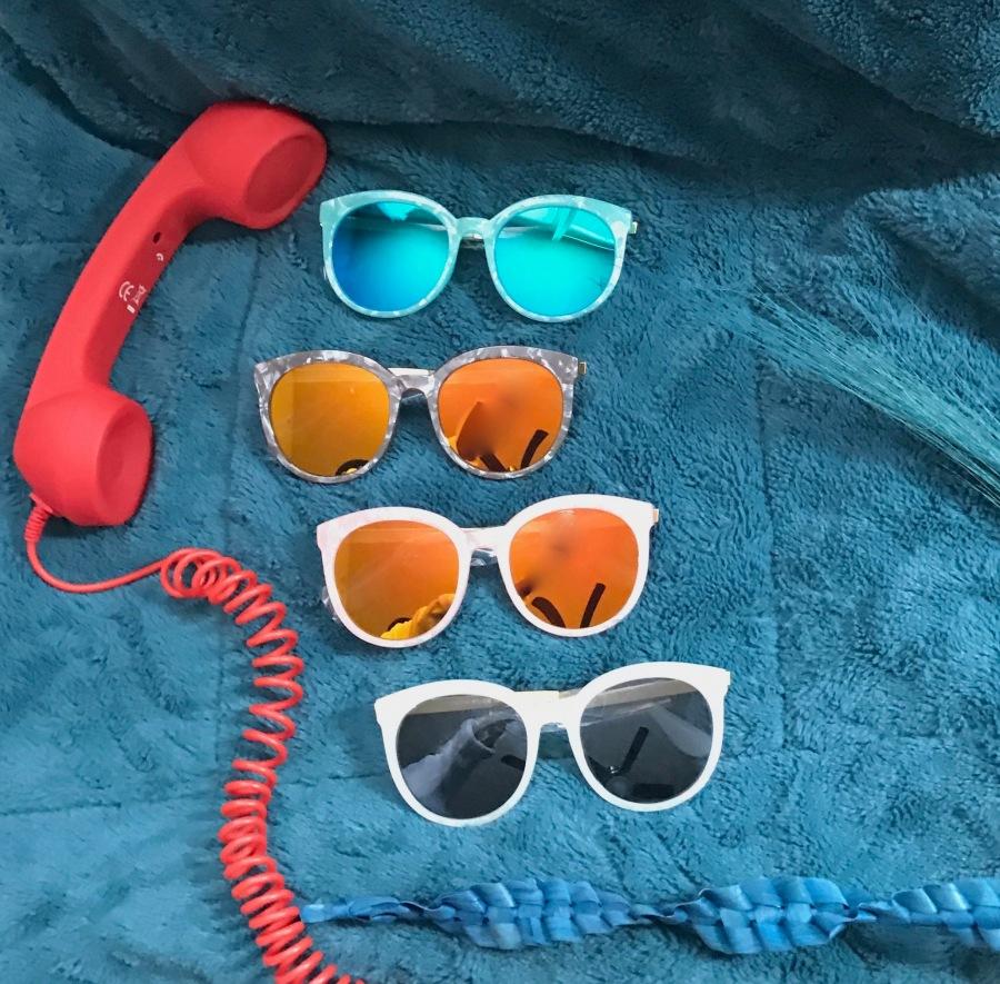 oversized womens sunglasses blue labels boutique