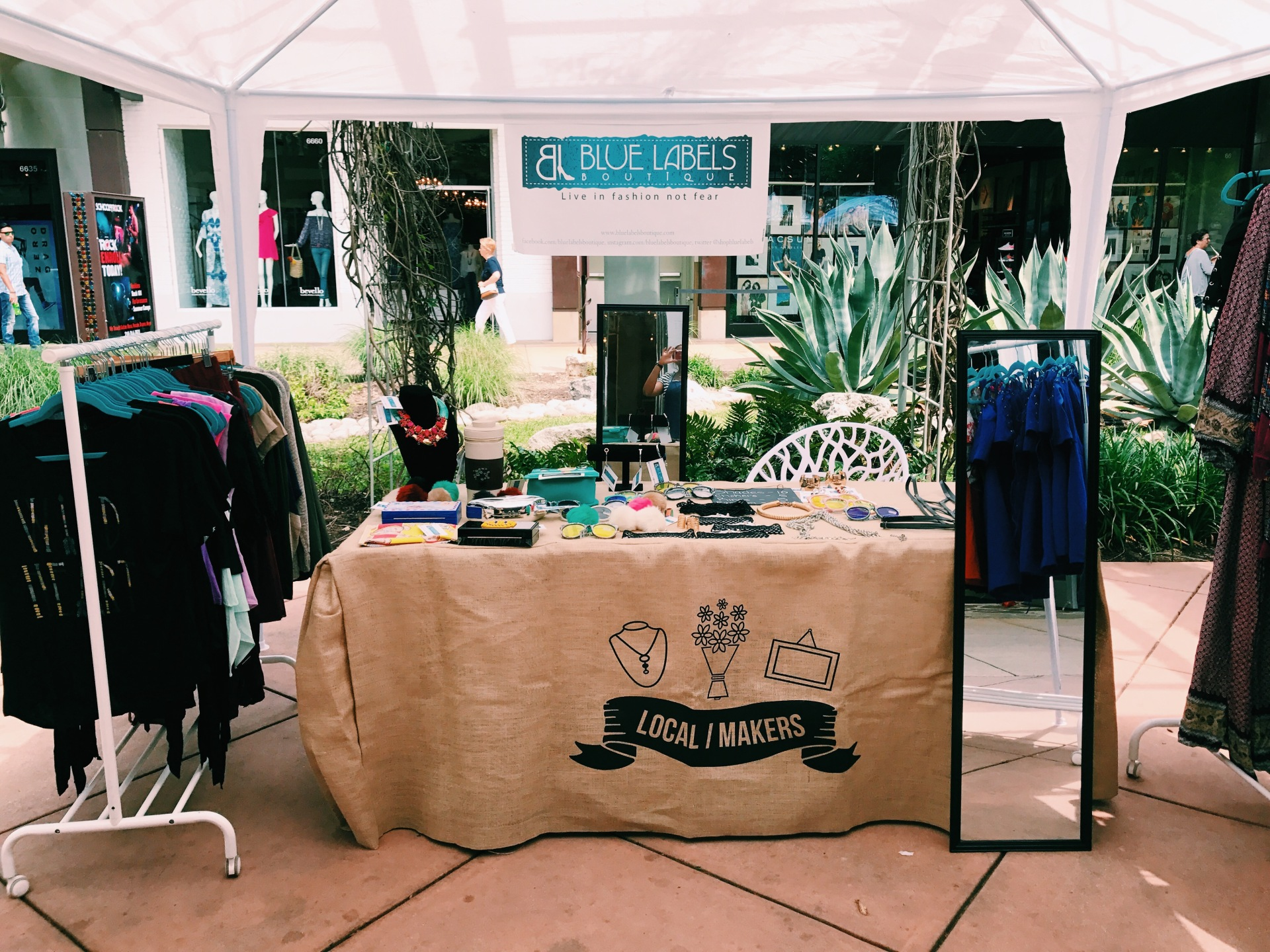blb pop up shop at the shops at la cantera