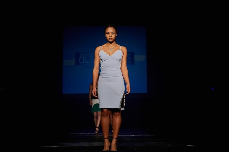 baby blue dress with cutouts blue labels boutique