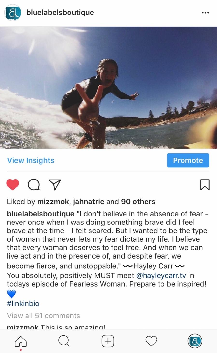 hayley carr surfing