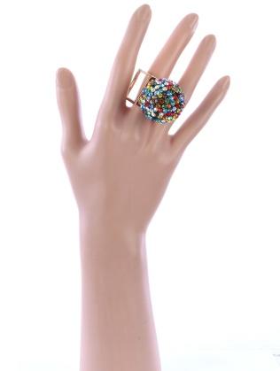 crystal ball ring