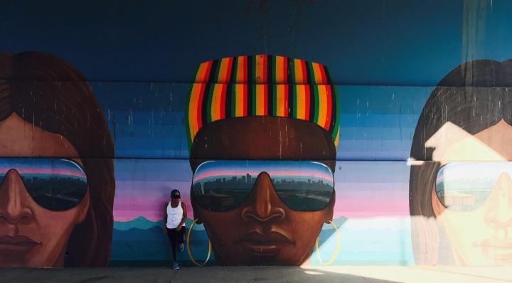 graffiti wall in downtown denver colorado