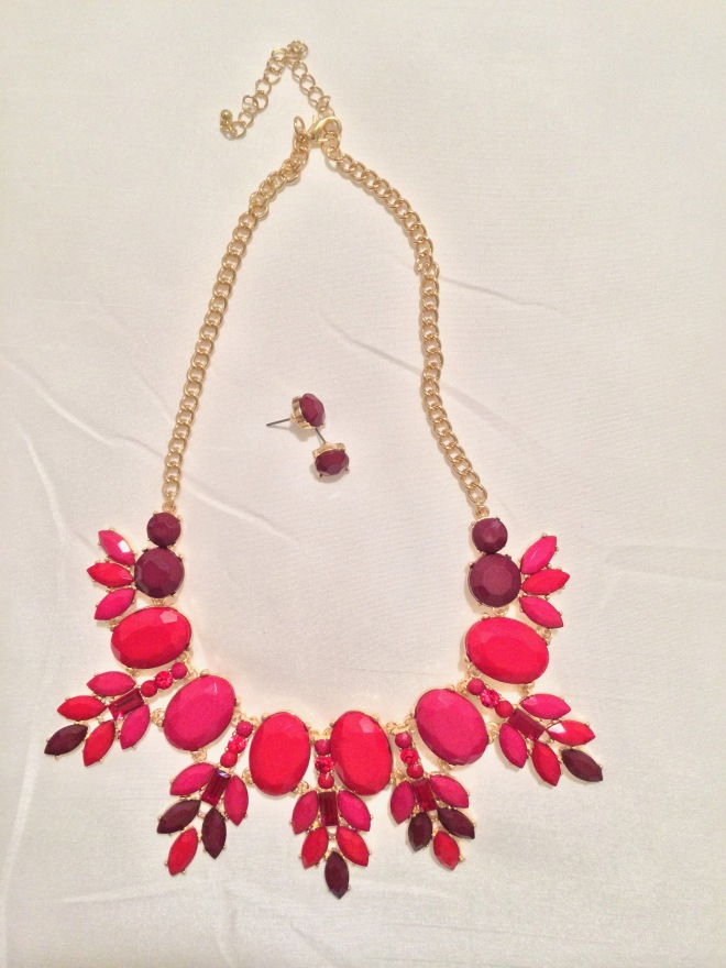 Red Flair Necklace