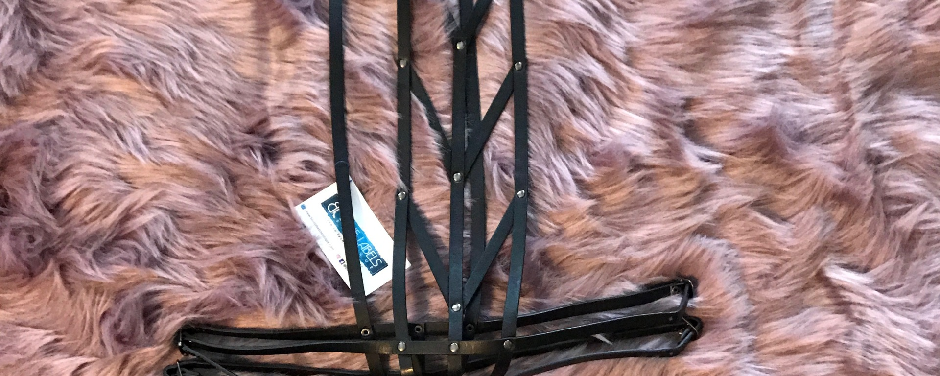 leather womens body harness