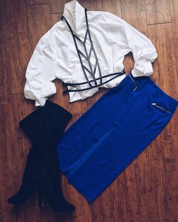 Body Harness X Always Royal Skirt