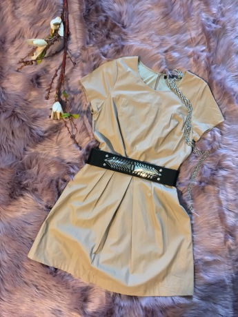 Leather Luxe Dress X Warrior Belt