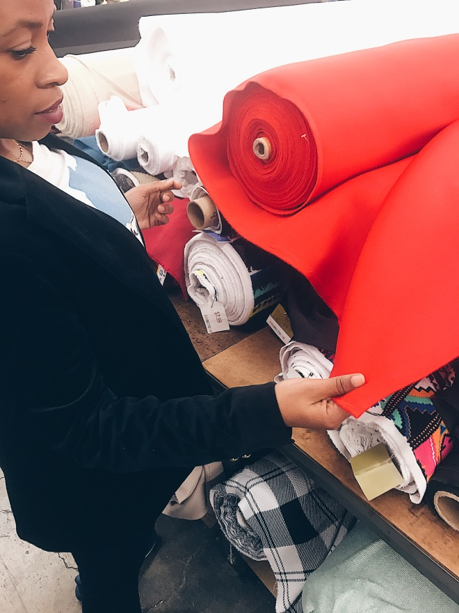 selecting fabric for fashion not fear