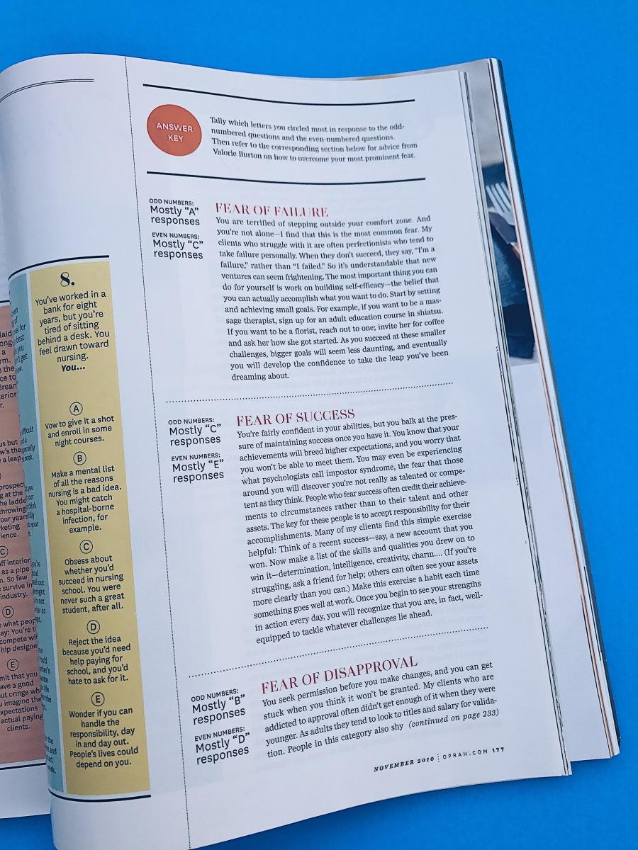 quiz oprah 2010 magazine