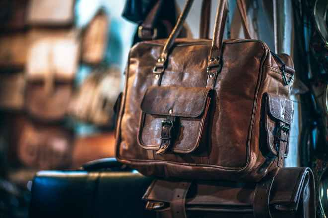brown leather bag; do you care about a designers background