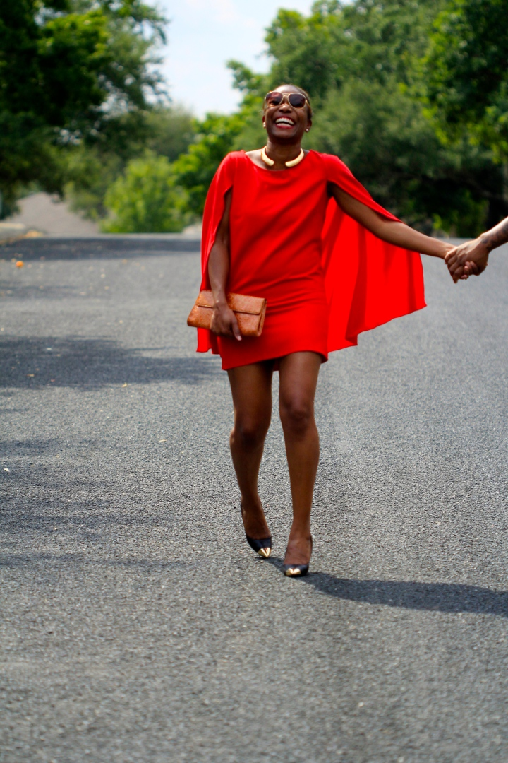 red-cape-dress