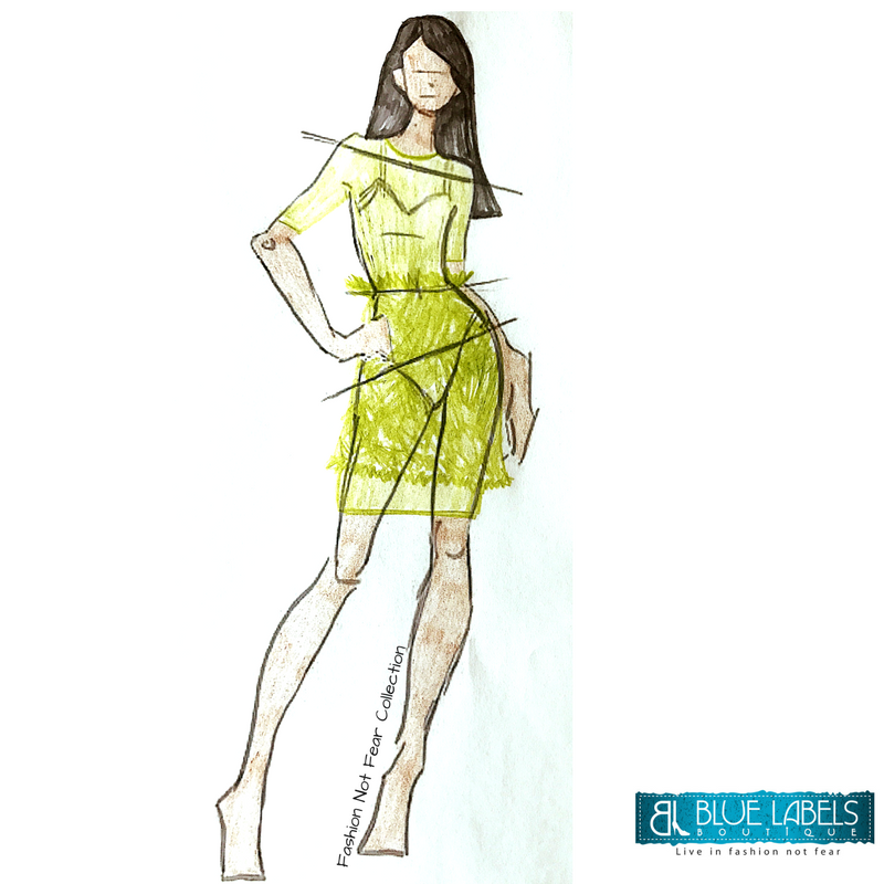GreenLaceOverlayDress Fashion Not Fear Collection