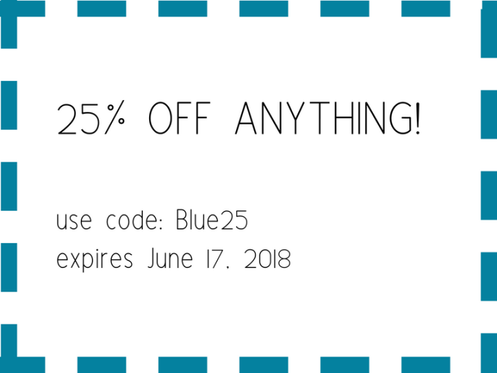 25%off coupon at blue labels boutique