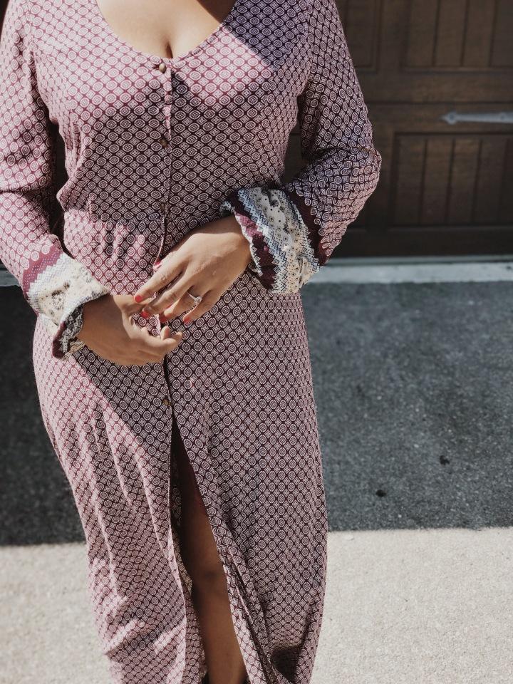 boho dress how to hide tummy