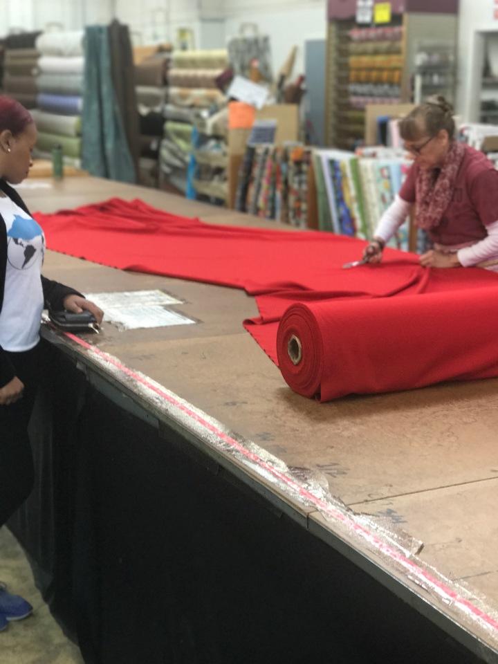 fabric cutting fashion not fear