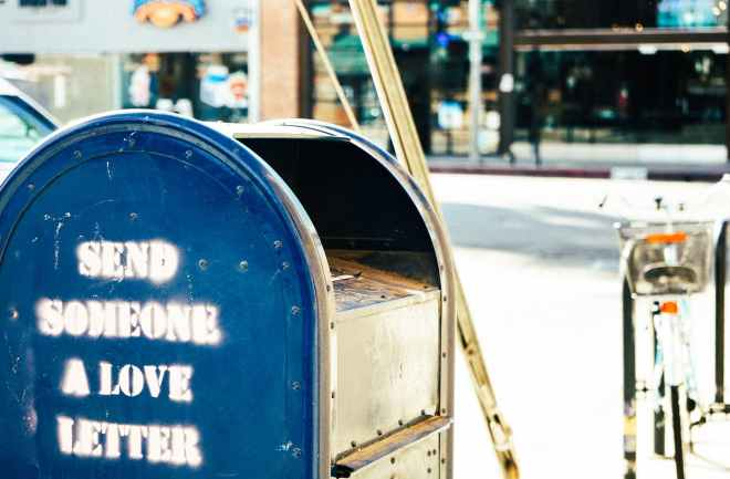 letter mail mailbox postbox