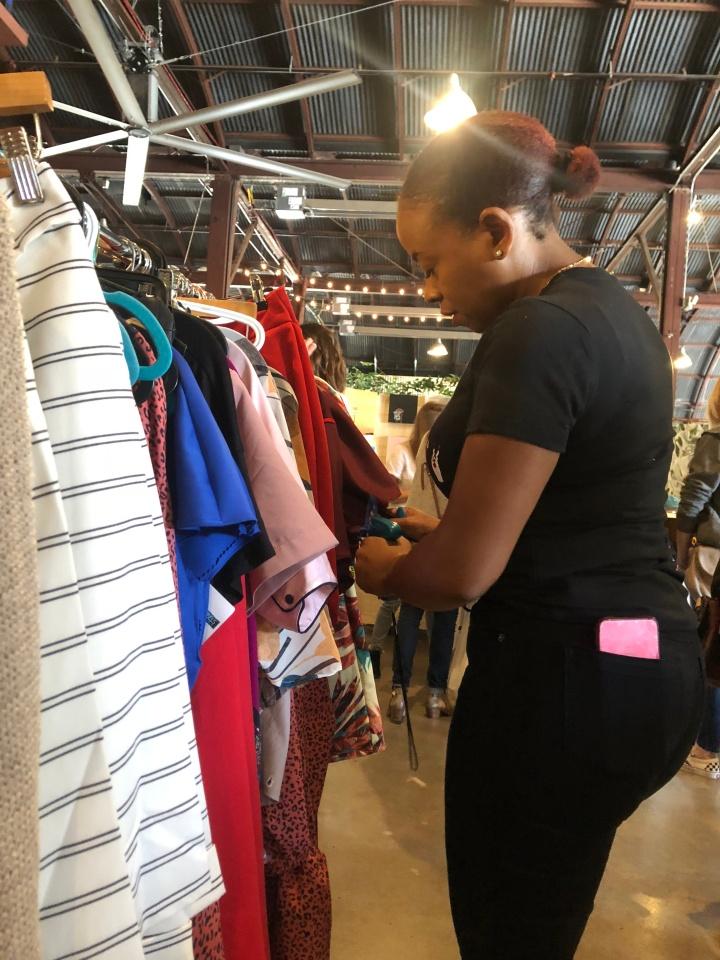 blue labels boutique crafther market 2018 austin, tx