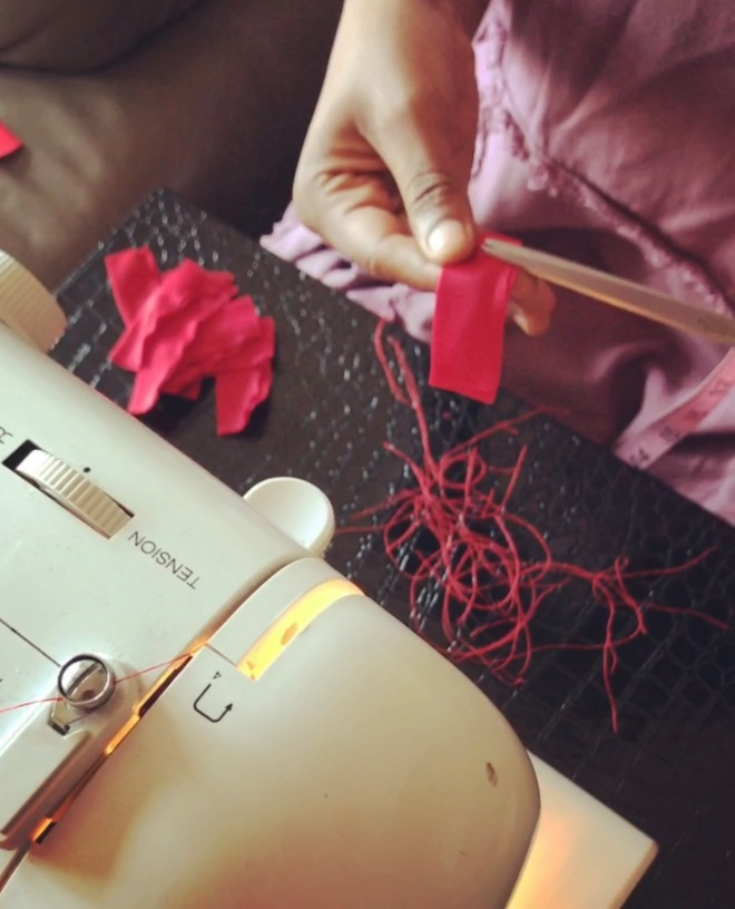 Handcrafting straps for women top