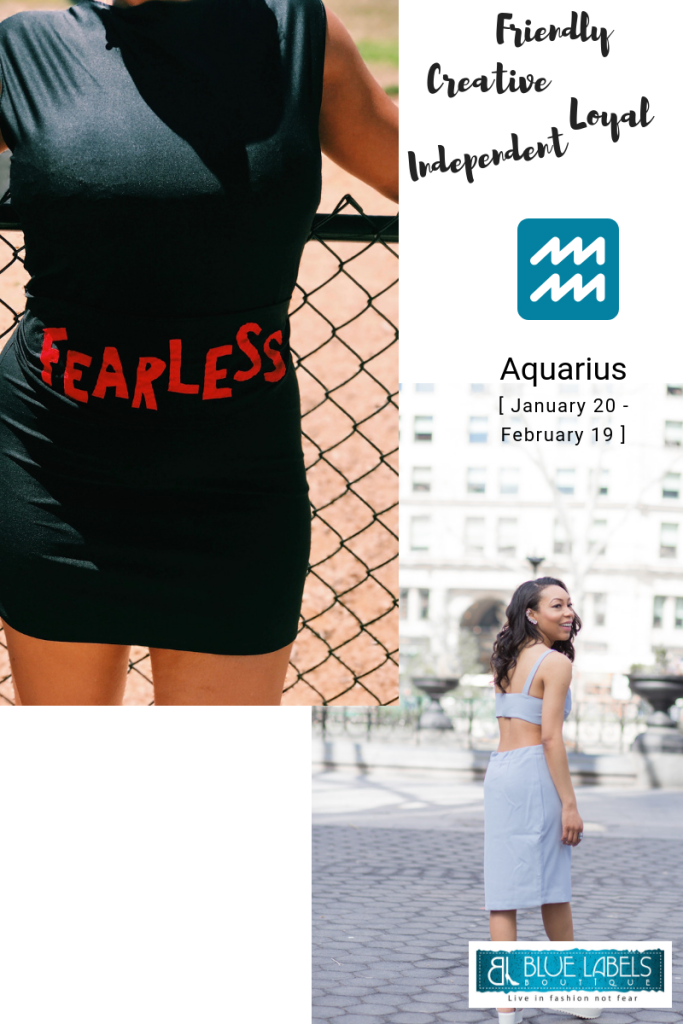 what dress an aquarius should wear