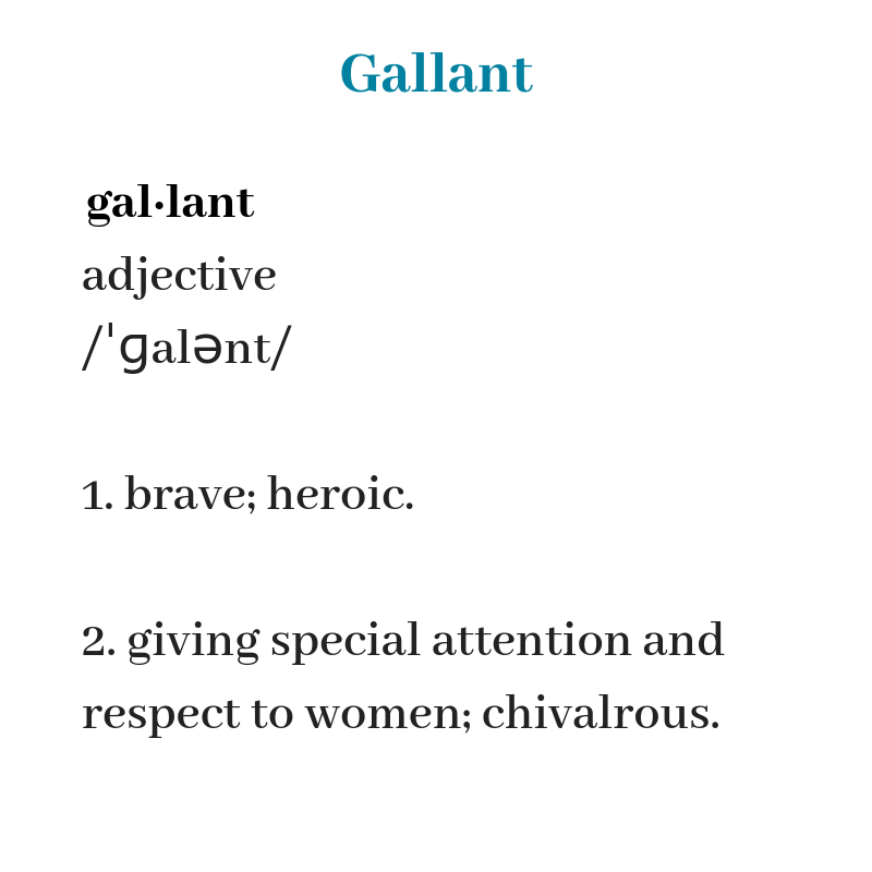 gallant definition