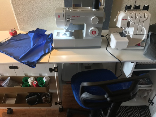 sewing machine and serger machine