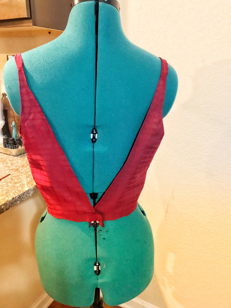 sewing a bodice