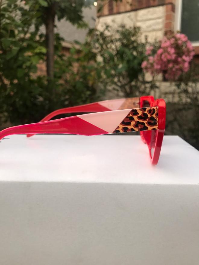 Red sunglasses for women