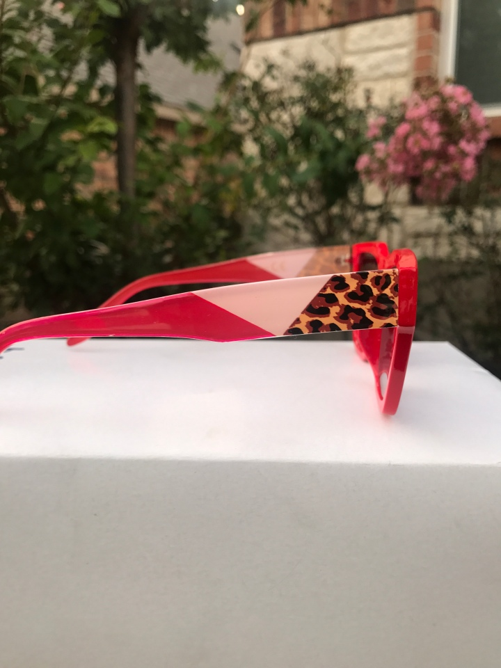 Red sunglasses for women