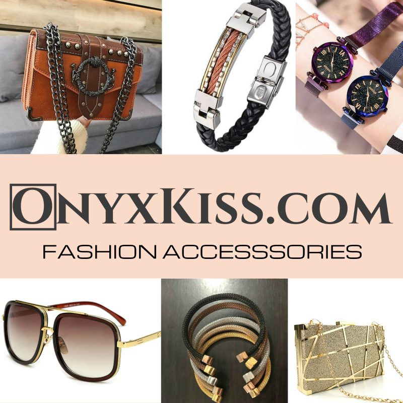 Shop fashionable accessories with onyxkiss