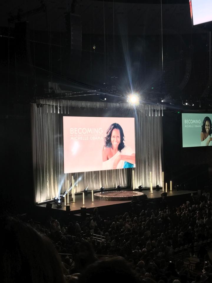 Michelle Obama in Austin