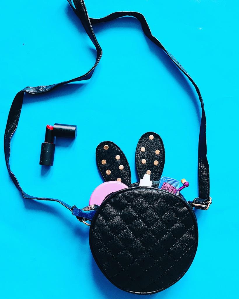 Bunny shaped handbag